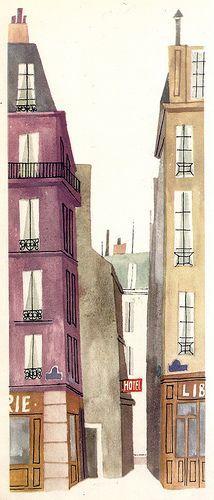 """From M. Sasek's """"This is Paris."""" 1959."""
