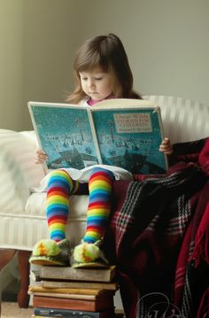 Reading is such a wonderful thing to do.. Images of imaginative thoughts swirl in a young mind........
