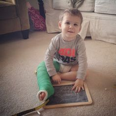 blackberries & Jesus.: The Hulk Leg Chronicles (or 12 Ideas to Keep a Toddler Off a Broken Leg)