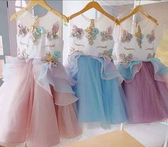 Unicorn Girls Dress