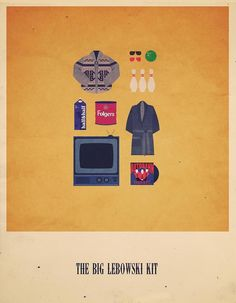 Minimalist Posters Feature Playful Pop Culture References - My Modern Metropolis