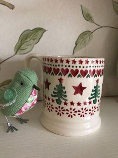 Rare One-Off Emma Bridgewater Christmas Sample Half Pint Mug By Lynsey in Pottery, Porcelain & Glass, Pottery, Bridgewater | eBay!