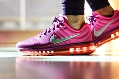 Great Looks and Cool Design Nike Air Max 2017 Women Romantic Purple Nike Shoes 2017, Nike Free Shoes, Nike Shoes Outlet, Running Shoes Nike, Running Sports, Cheap Nike Air Max, Nike Air Jordan 11, Deep Purple, Air Max Sneakers