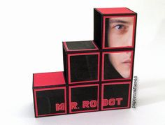 """Mr. Robot"" Blocks Card by papercrafter45"