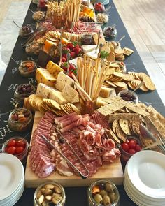 Big Board Cheese and Charcuterie Display is the ultimate in indulgence!
