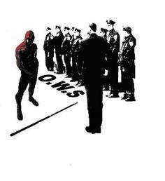 Occupy Wall Street- Spiderman