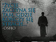 Tam gdzie kończy się strach Osho