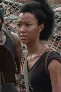 female walking dead characters | Walking Dead Sasha Downton Abbey, Walking Dead stars land Once Upon A ...
