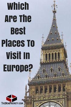 The Best Vacation Spots in Europe - TheNewPriority