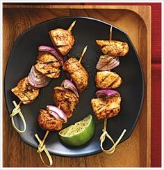 CHILI CHICKEN KEBABS