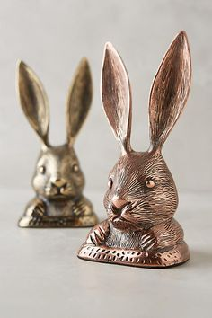 Favorite Things for Fall:  Rabbit Ears Doorstop - anthropologie.com