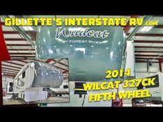 2014 WILDCAT 327CK REAR ENTERTAINMENT FIFTH WHEEL BY FOREST RIVER --- Gillette's Interstate RV Rv Videos, Fifth Wheel, Forest River, Entertainment, Youtube, Entertaining