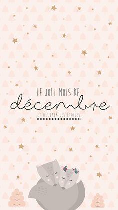 Calendrier du mois de décembre 2018 à imprimer - La vie en plus joli