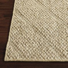 Trellis Sisal Rug; this is the rug I envisioned for your dining room! But bummer, it doesn't come in 9x12...