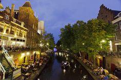 Utrecht Oude Gracht Netherland