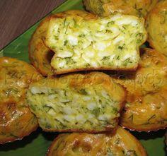 Оригинальный кекс из плавленных сырков с зеленью