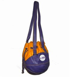 LSU State Drawstring Shoulder Bag by Red 24 Sports Purses.  Buy it @ ReadyGolf.com