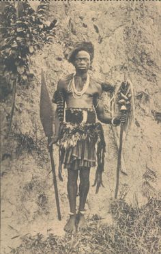 Belgian CONGO Stanleyville sorcerer the Belgians were told that the Africans had no culture and that the Europeans were uplifting them