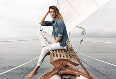 Supermodels Daria Werbowy and Mathias Lauridsen star in AG Jeans Spring Summer 2015 advertising campaign shot by fashion photographer Lachlan Bailey Clothing Photography, Fashion Photography, Lifestyle Photography, Clothing Advertisements, Daria Werbowy, Spring 2015 Fashion, Best Ads, Summer Photography, Photography Pics