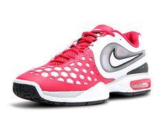 Nike Air Courtballistec 4.3 Scarlet/Wh Men's Shoe