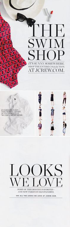 The Typofiles: J. Crew August Style Guide