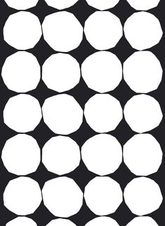 Kivet heavyweight cotton fabric by Marimekko Upholstery Cushions, Furniture Upholstery, Upholstery Repair, Upholstery Cleaning, Marimekko Fabric, Ideas Prácticas, Wall Ideas, Types Of Curtains, Collage