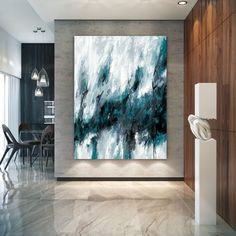 This Extra Large Wall Art Textured Painting Original Painting,Painting on Canvas Modern Wall Decor Contemporary Art, Abstract Painting is just one of the custom, handmade pieces you'll find in our oil shops.