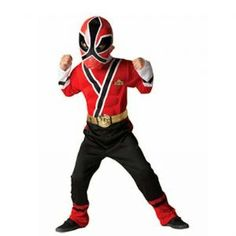 Child: Red Power Ranger RPM Costume