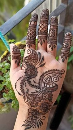 Full Mehndi Designs, Pretty Henna Designs, Henna Tattoo Designs Simple, Henna Art Designs, Mehndi Designs For Girls, Mehndi Designs For Beginners, Bridal Henna Designs, Mehndi Design Pictures, Beautiful Mehndi Design