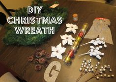 DIY #Christmas wreaths look luxe on a budget! #holidaydecor #Christmascrafts