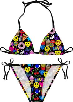 78d942d274 Shop the Girl Power Bikini and show off your fun spirit at a pool party,  festival, water park, or at the beach with this vibrant Bikini!