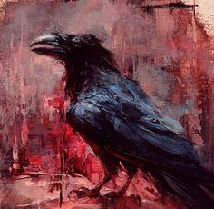 Raven  (Re-pinned from Pinterest)