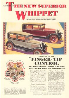 1929 Whippet ad