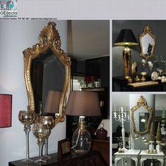 ESPELHO LAPIDADO com moldura estilo D João V, dourado, em madeira maciça....em qualquer divisão e com qualquer estilo de decoração......https://www.facebook.com/objecta.segunda.mao/photos/?tab=album&album_id=502677349868970
