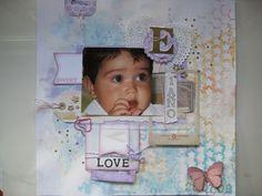 Scrapbook & Art: LO para un príncipe de 1 añito...