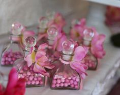 Ready Personalized Perfume Bottle Party Gift with by lolapaperdoll