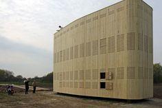 Melarium Ackerdijkse Bos geopend en bewoond - 24 april 2015