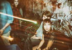 #punk #punkrock #girl #girls #woman #halloween #halloweenparty #lightrail #lights #italiangirl #grunge #rock #concerto #concert #pub #irishpub (presso Crazy Wave Domaso)