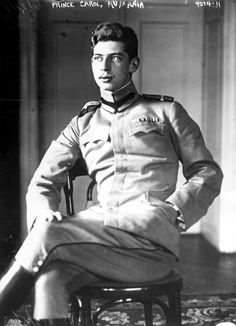 """Carol II (1893 – 1953) reigned as King of Romania from  1930 until 1940. Eldest son of Ferdinand, King of Romania, & his wife, Queen Marie, a daughter of Prince Alfred, Duke of Edinburgh, the second eldest son of Queen Victoria. He was the first of the Romanian royal family who was baptized in the Orthodox rite. Carol married 1921, Princess Helen of Greece & Denmark. The marriage soon collapsed in the wake of Carol's affair with Elena """"Magda"""" Lupescu"""