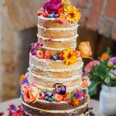 Znalezione obrazy dla zapytania wedding cake with flowers