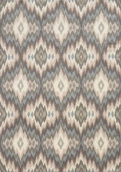 This area rug is sleek and sophisticated with elegant hues of warm taupe, silvery sage, desert clay and deep charcoal. I Shop Rug & Home I #rug #multicolor