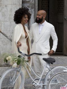 La boda del fin de semana, Solange Knowles y Alan Ferguson
