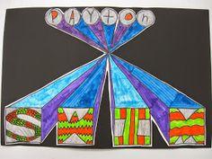 ABC School Art: 3-D Words - (4th)