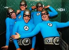 Aquabats - I wonder if I can get the boy family to do a variation of this?