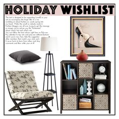 """""""Holiday wishlist"""" by budding-designer ❤ liked on Polyvore featuring interior, interiors, interior design, home, home decor, interior decorating, ClosetMaid, Signature Design by Ashley, Zuo and Cyan Design"""