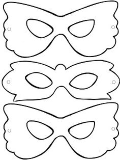 Mardi Gras Mask Template, Masquerade Mask Template, Fun Projects For Kids, Diy Crafts For Kids, Christmas Crafts For Kids, Halloween Crafts, Caterpillar Craft, Art Lesson Plans, Nature Crafts