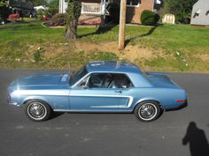 1967 brittany blue mustang - Google Search