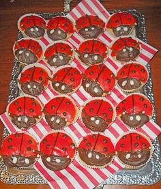 Gluckskafer Marienkafer In 2019 Cool Cakes Cookies Co