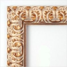 mirror with antique gold frame