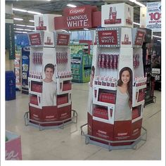Popon | Image Gallery | Colgate Luminous White Arch Floor Display